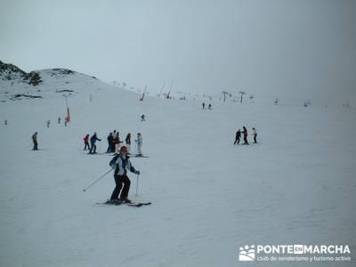 Esquí Baqueira - Disfrutrando la nieve; jerte en flor; viaje puente de mayo